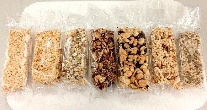 Las barritas de cereal